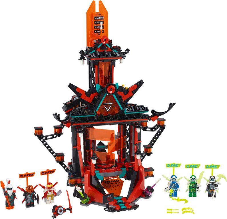 LEGO® Ninjago Empire Temple of Madness components
