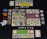 Nations: The Dice Game components