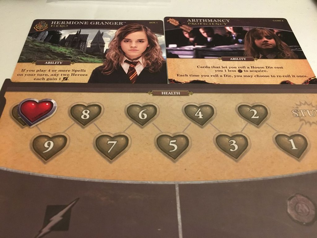 Harry Potter: Hogwarts Battle - The Monster Box of Monsters Expansion characters