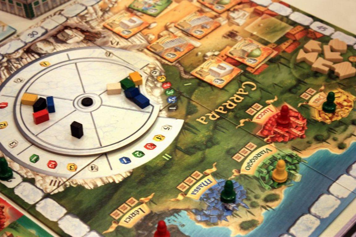 The Palaces of Carrara gameplay
