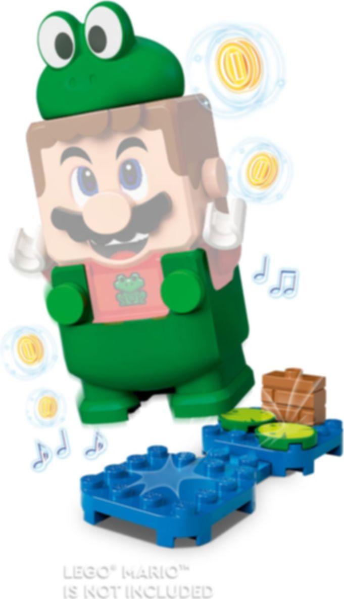 LEGO® Super Mario™ Frog Mario Power-Up Pack gameplay