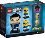 LEGO® BrickHeadz™ Gru, Stuart & Otto rückseite der box