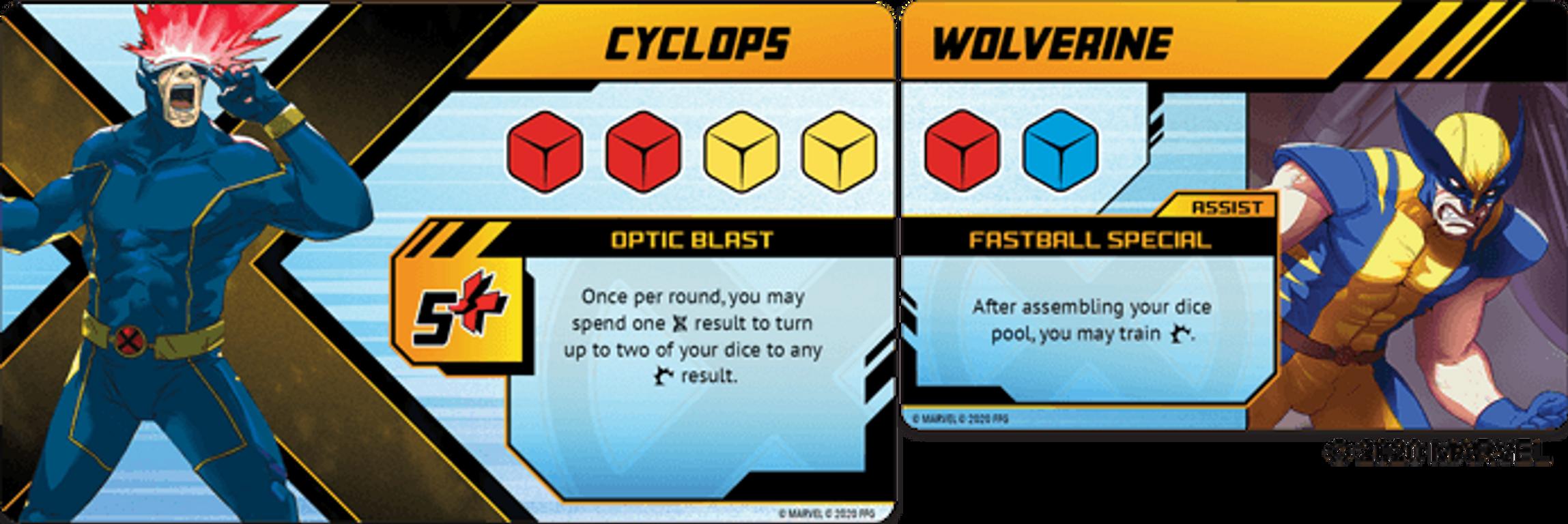 X-Men: Mutant Insurrection cards