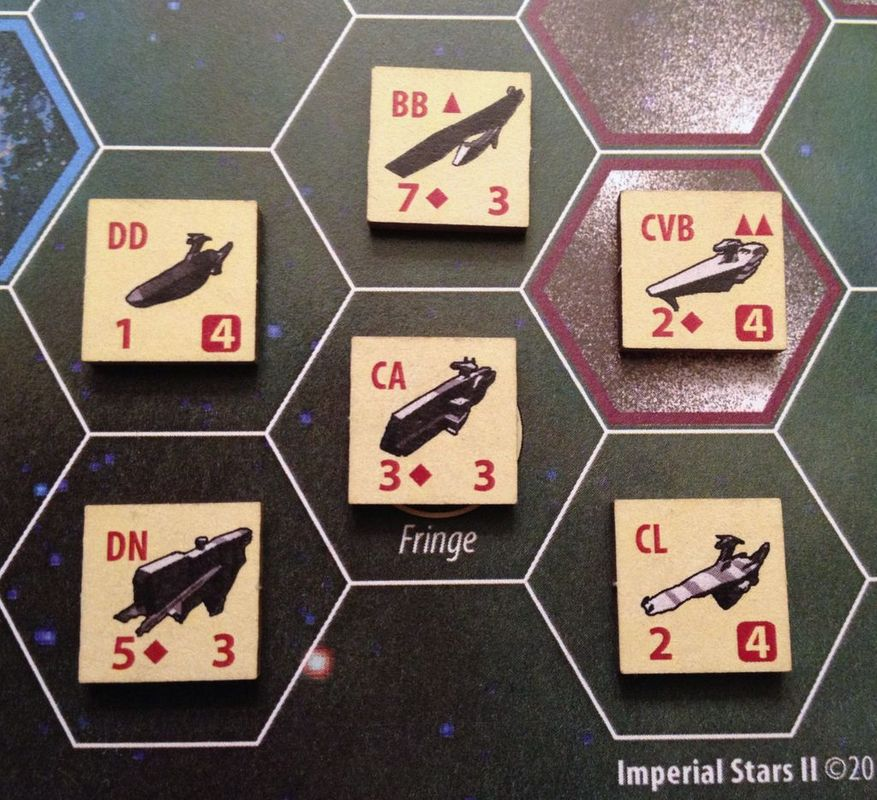 Imperial Stars II components