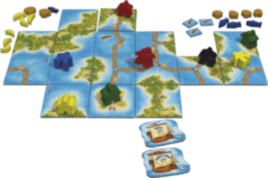 Carcassonne: South Seas gameplay