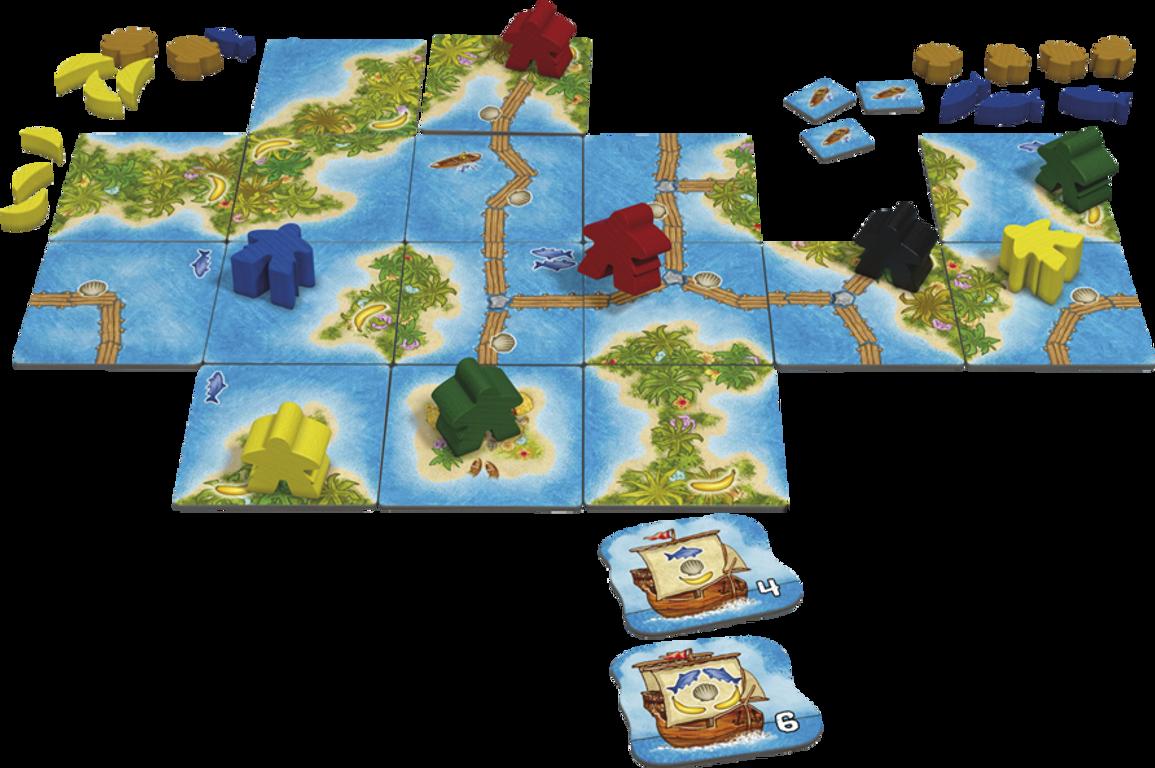 Carcassonne: South Seas gameplay