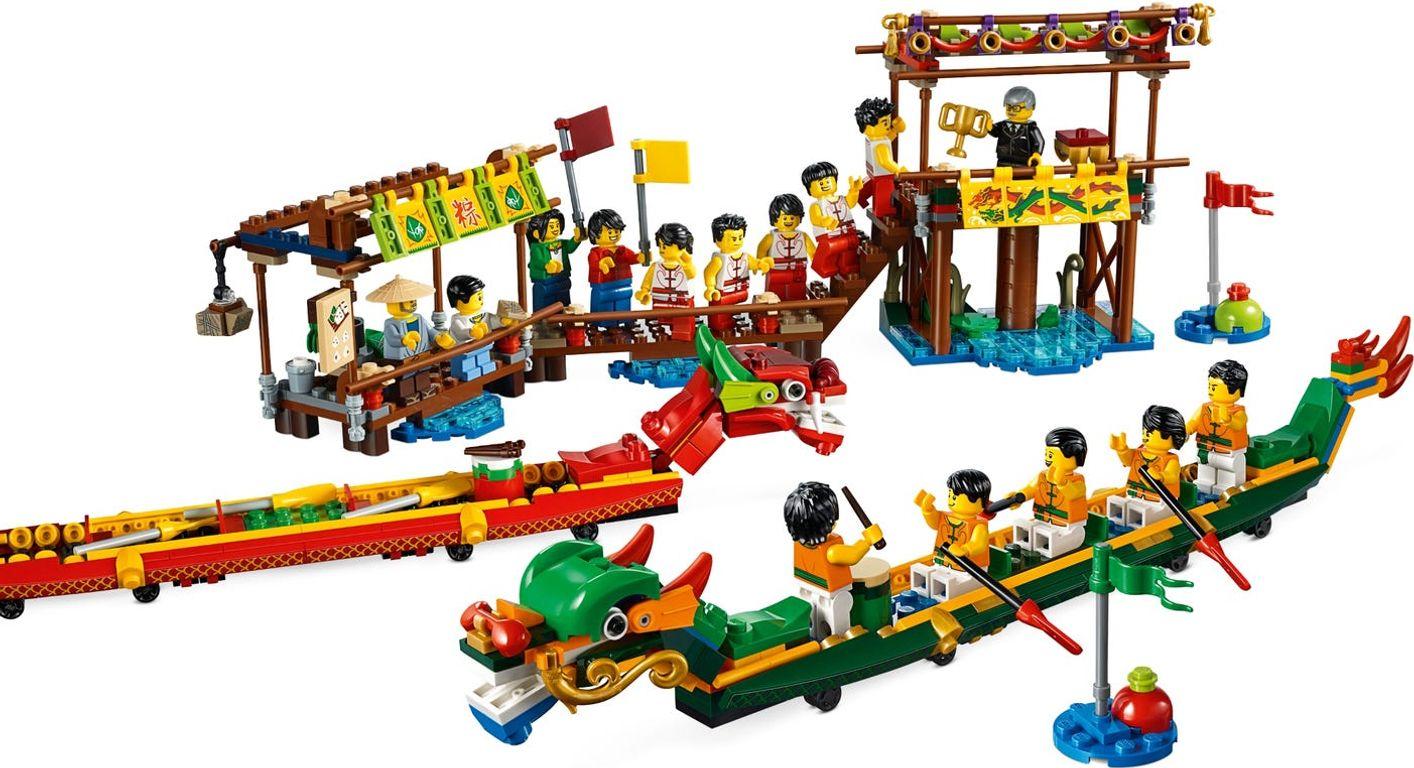 LEGO® Dragon Boat Race gameplay