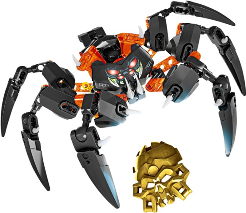 LEGO® Bionicle Lord of Skull Spiders components