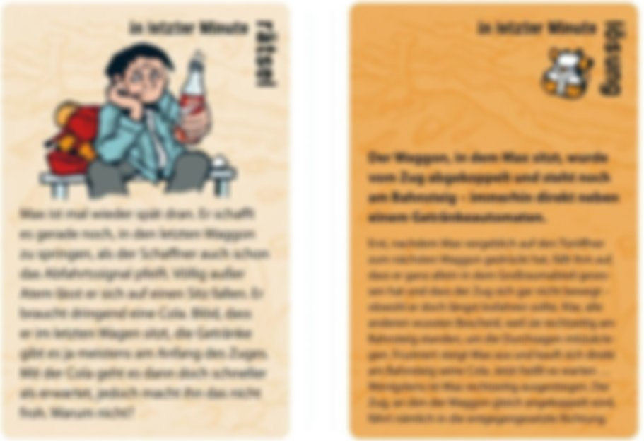 Orange Stories cards