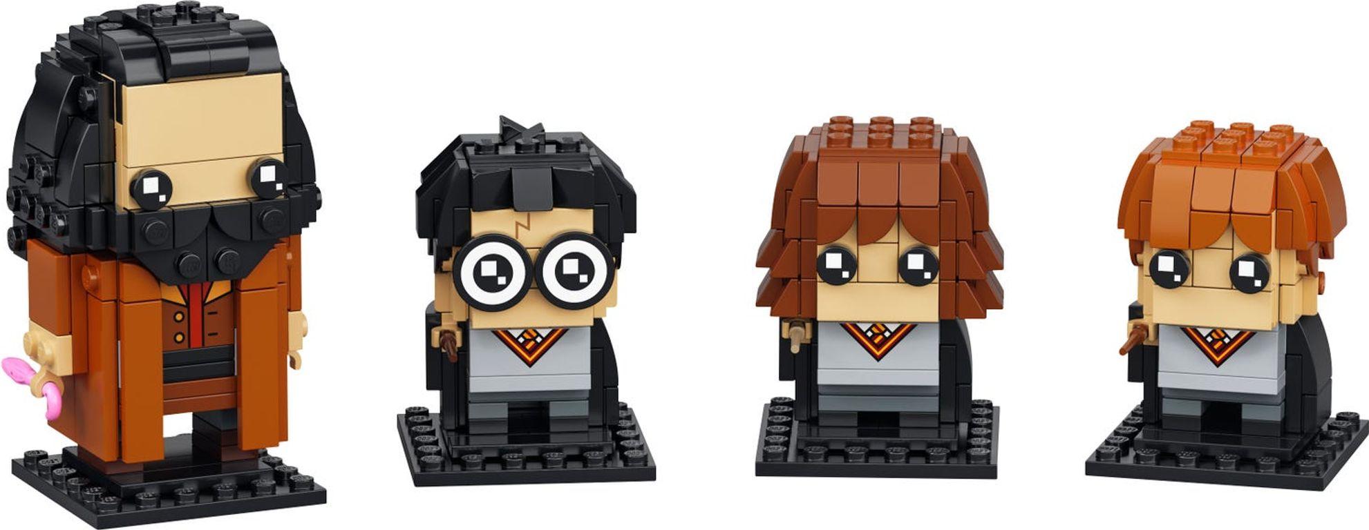LEGO® BrickHeadz™ Harry, Hermione, Ron & Hagrid™ components