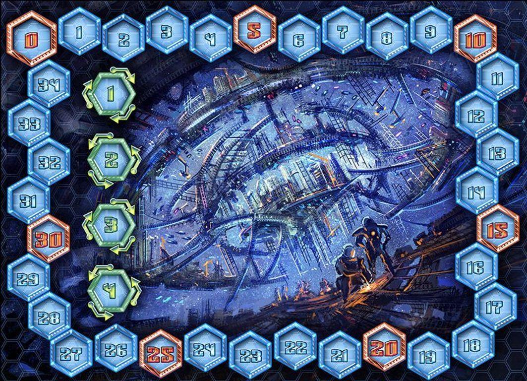 Among the Stars: The Ambassadors game board
