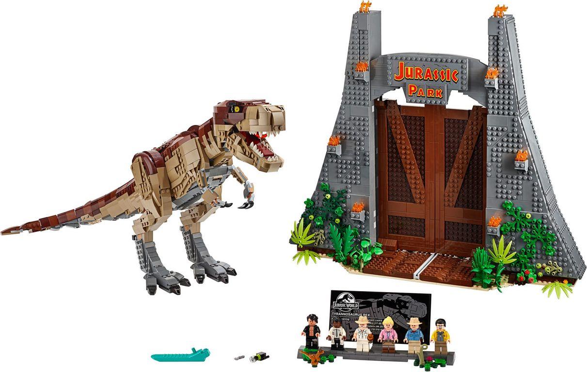 Jurassic Park: T. rex Rampage components