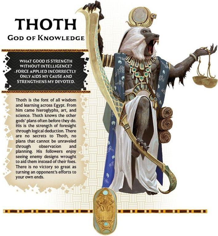 Ankh: Gods of Egypt – Pantheon Thoth