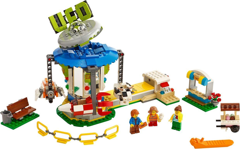 LEGO® Creator Fairground Carousel components