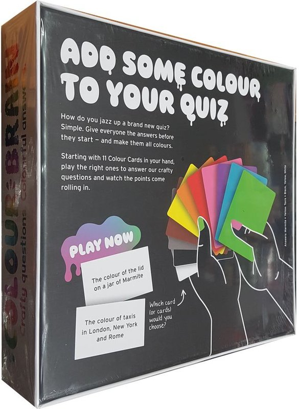 Colour brain back of the box