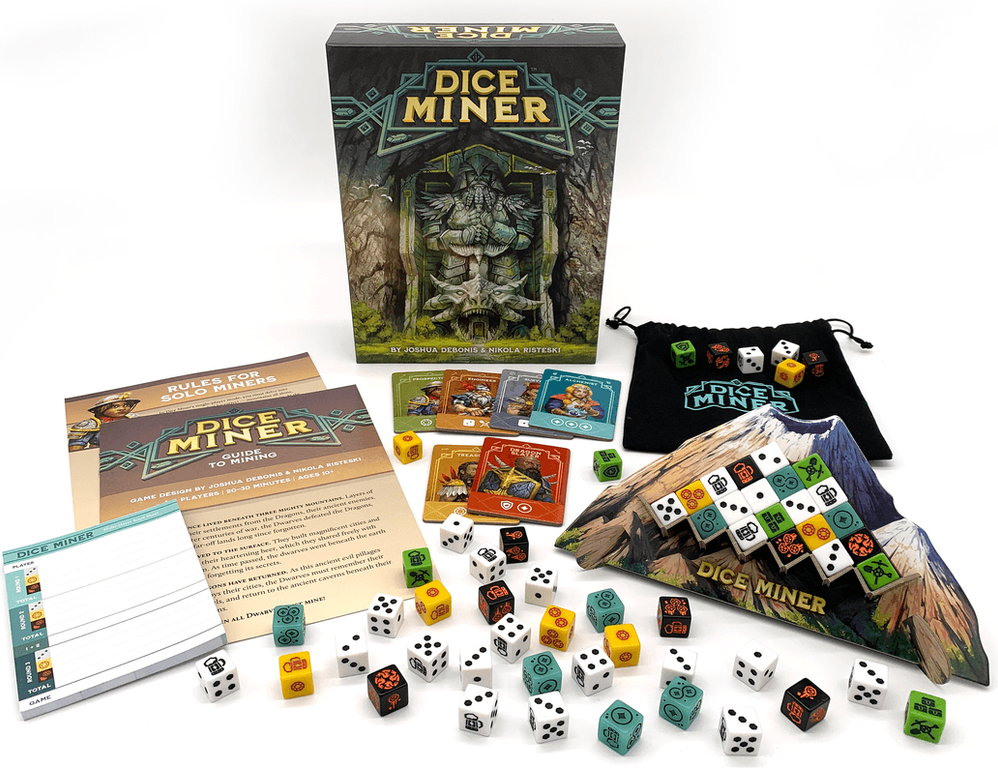 Dice Miner components