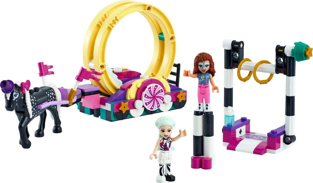 LEGO® Friends Magical Acrobatics components