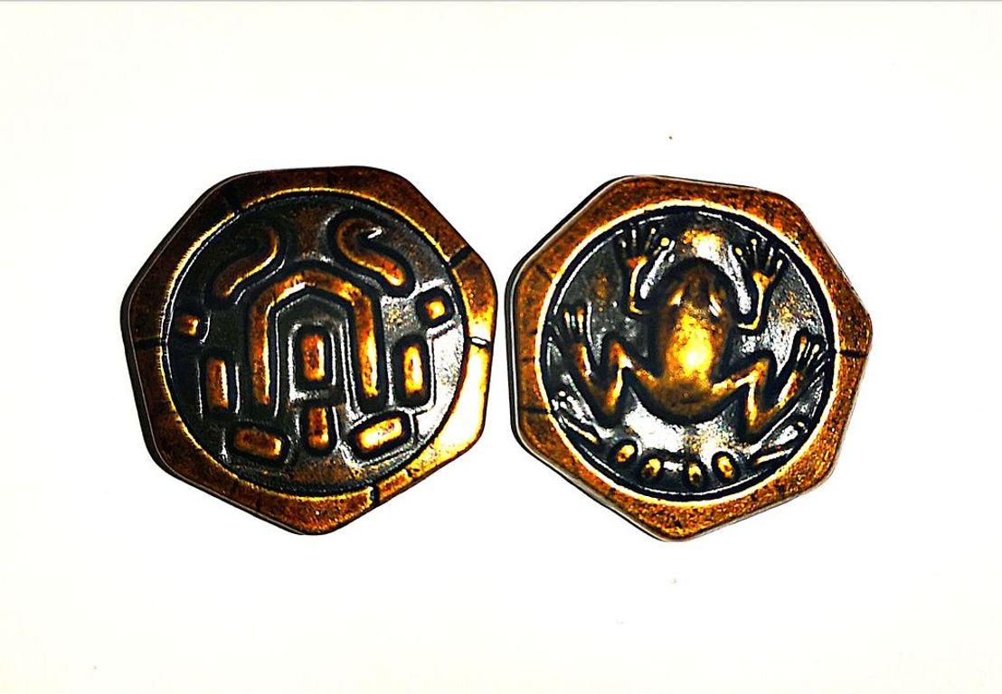 Roam: Metal Frog Coins coins
