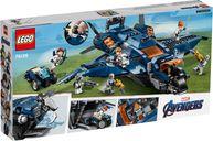 LEGO® Marvel Avengers Ultimate Quinjet back of the box