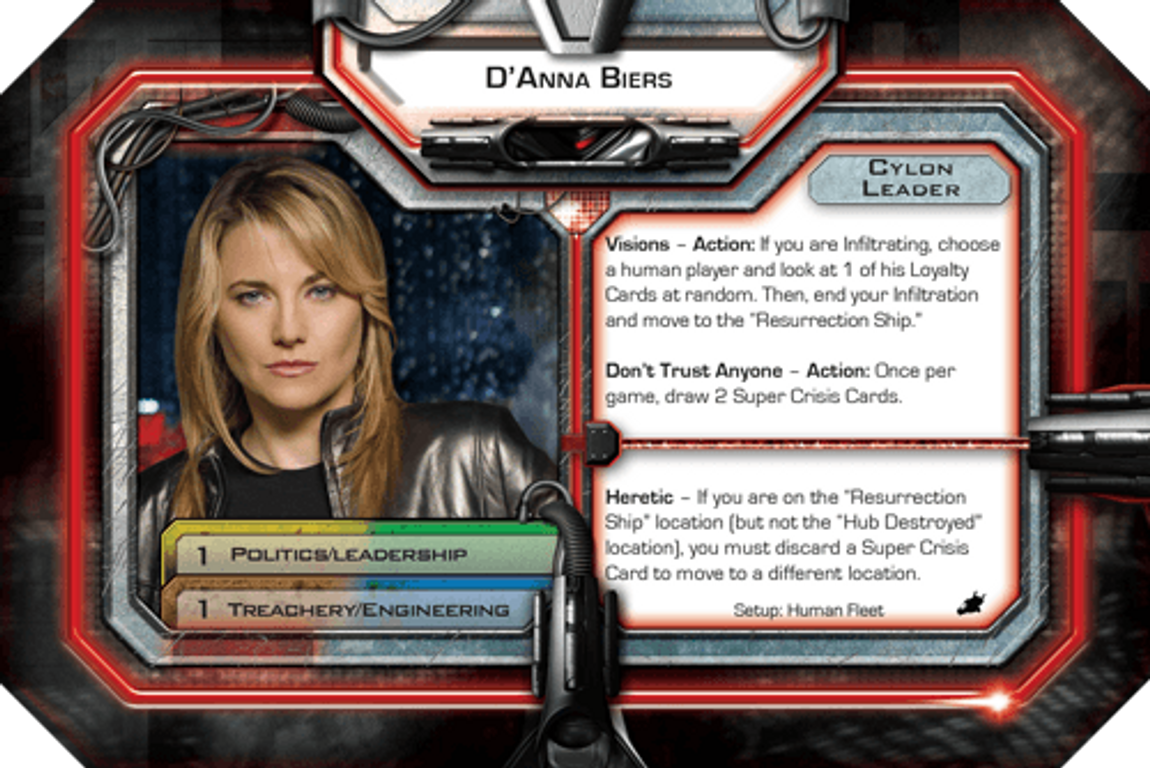Battlestar Galactica: Daybreak Expansion card