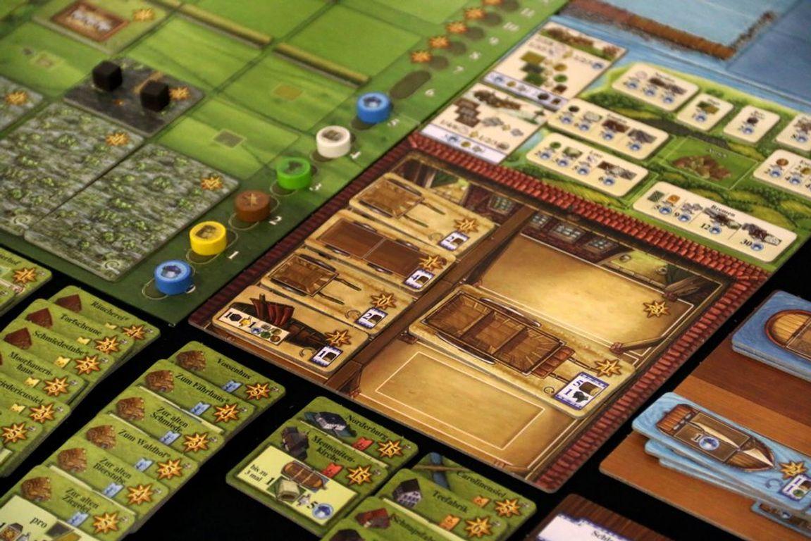 Fields of Arle: Tea & Trade gameplay