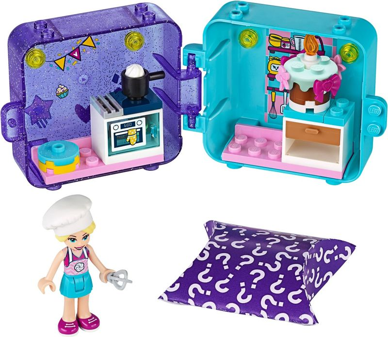 LEGO® Friends Stephanie's Play Cube components