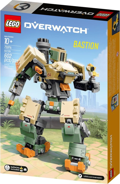 LEGO® Overwatch Bastion back of the box