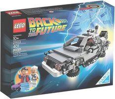 LEGO® Ideas The DeLorean Time Machine