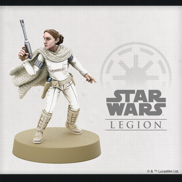 Star Wars: Legion - Padmé Amidala Operative Expansion miniature