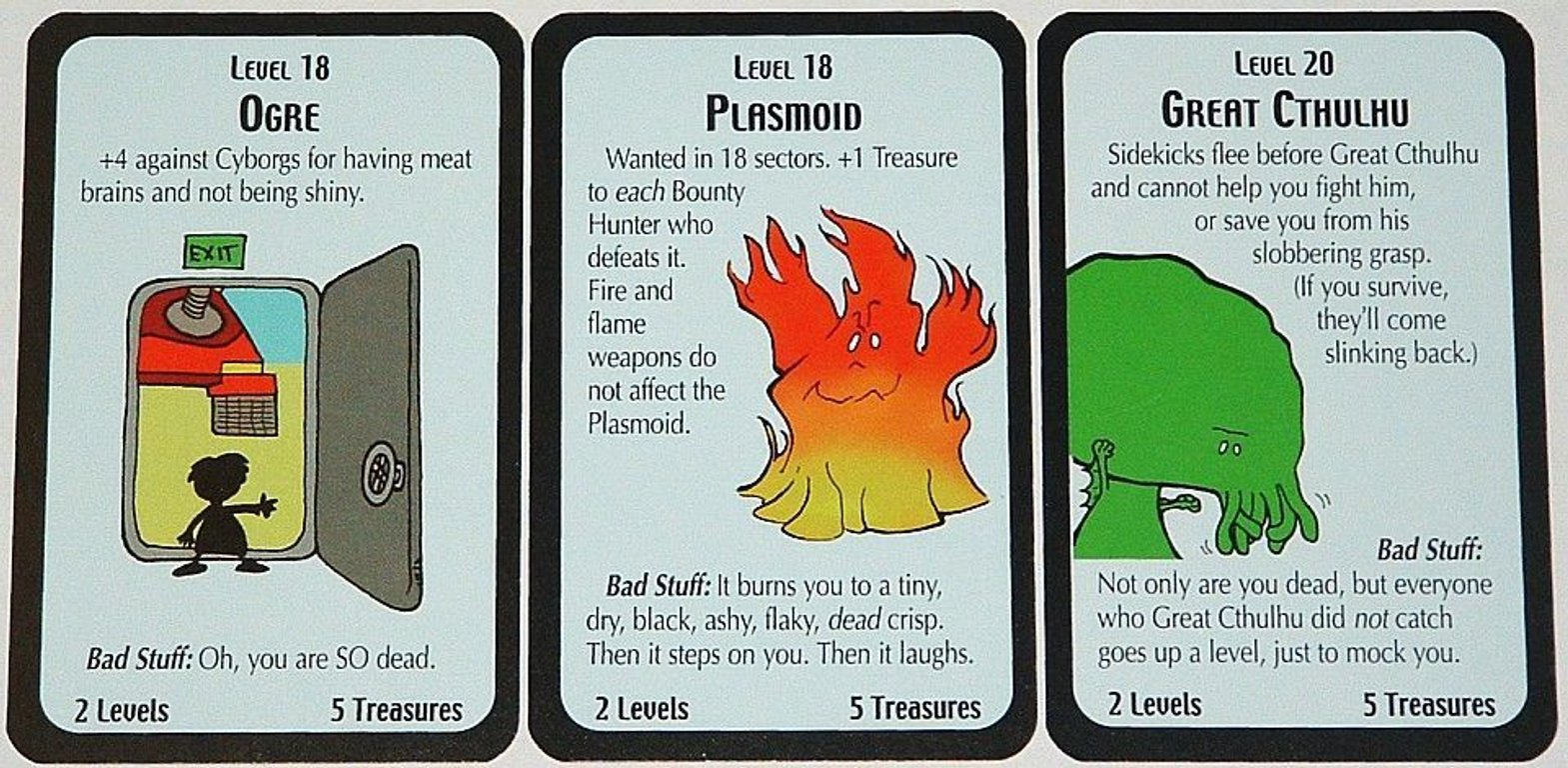 Star Munchkin Deluxe cards