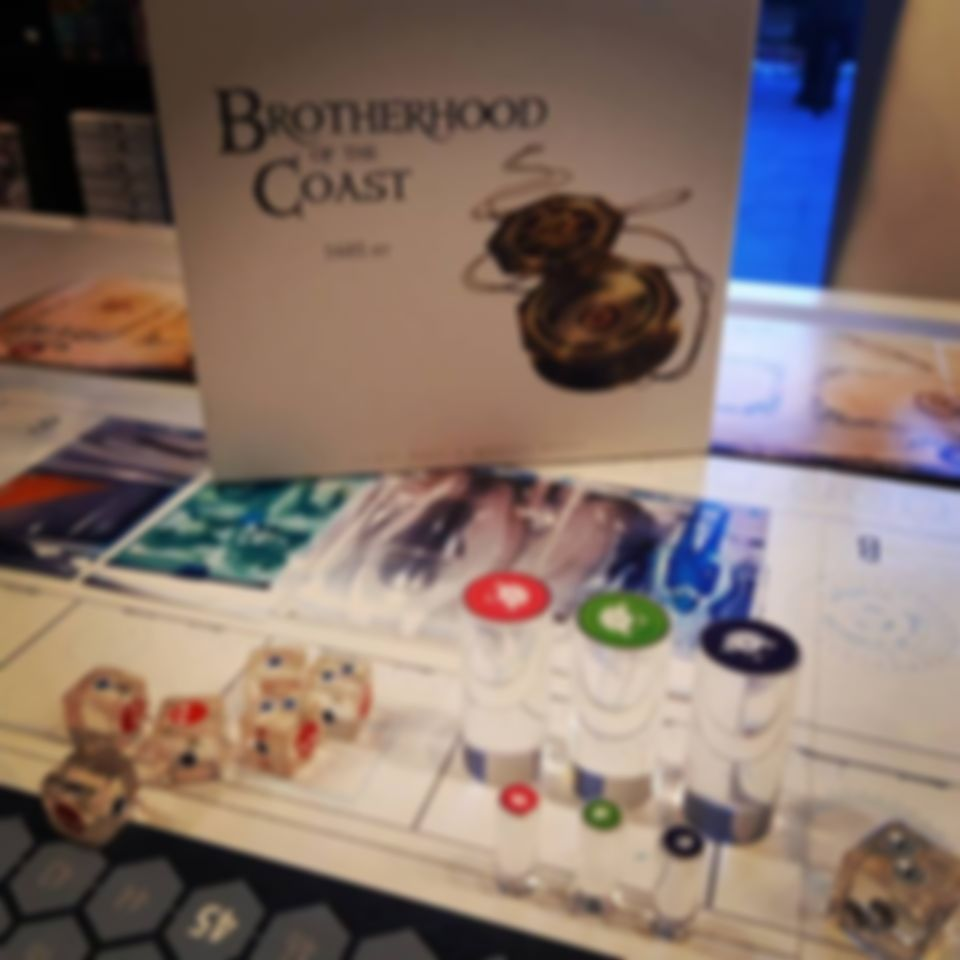 T.I.M.E Stories: Brotherhood of the Coast components