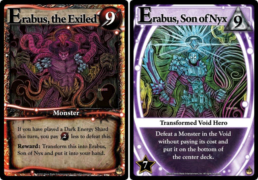 Ascension: Darkness Unleashed cards