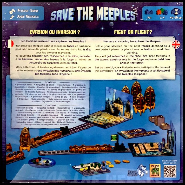 Save the Meeples back of the box