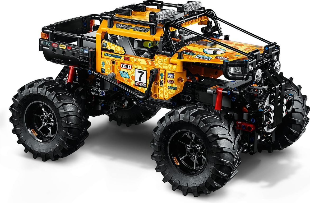 LEGO® Technic 4x4 X-treme Off-Roader components
