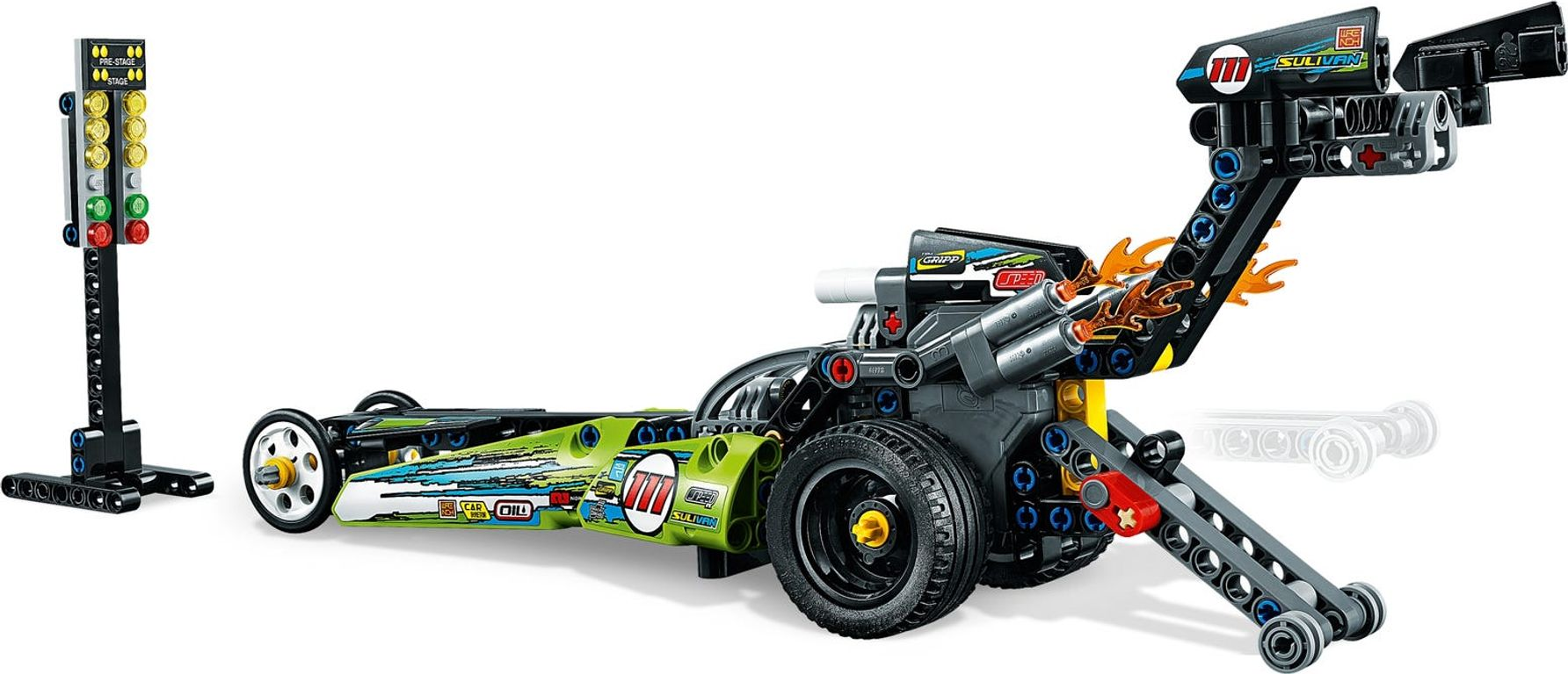 LEGO® Technic Dragster gameplay