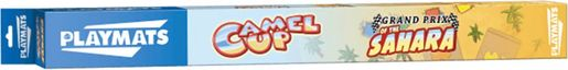 Camel Up playmat: Grandprix of the Sahara box