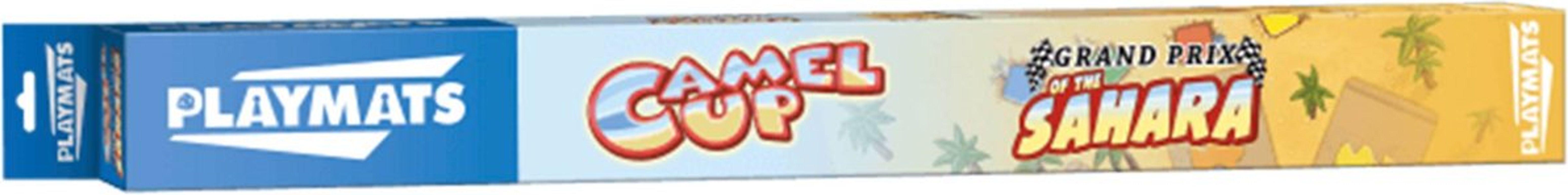 Camel Up playmat: Grandprix of the Sahara box