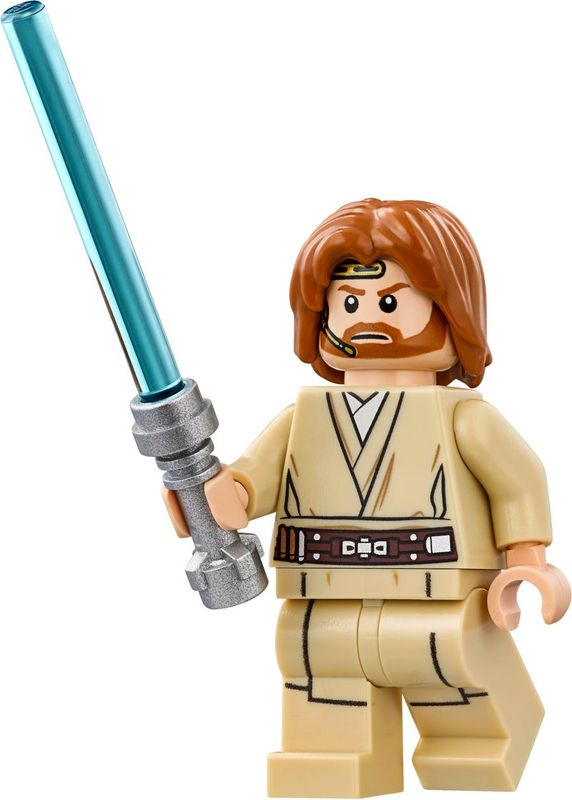 Jedi Starfighter™ With Hyperdrive Obi-Wan keywords.minifigure