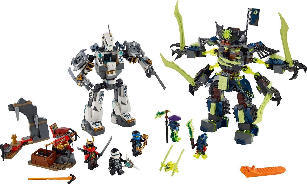 LEGO® Ninjago Titan Mech Battle components