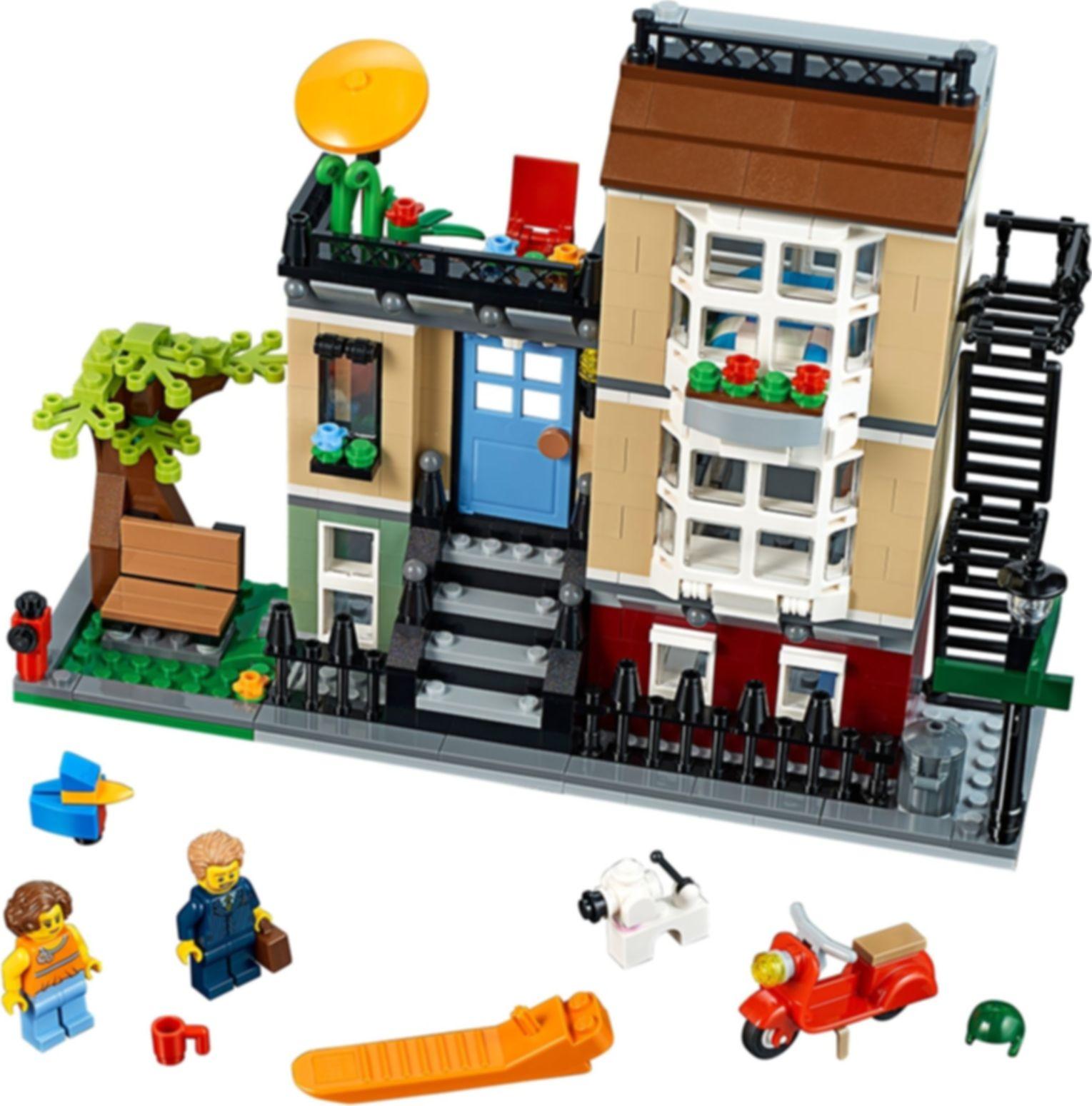 Park Street Townhouse components
