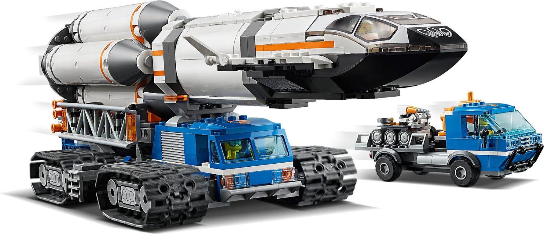 Rocket Assembly & Transport gameplay