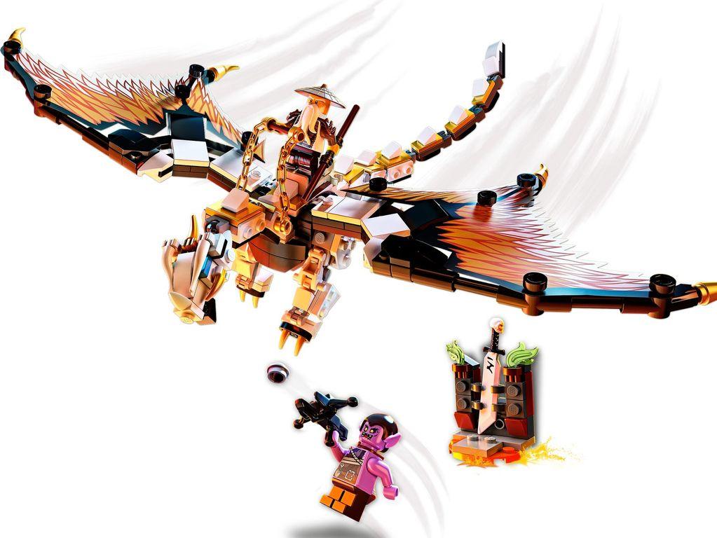 LEGO® Ninjago Wu's Battle Dragon components