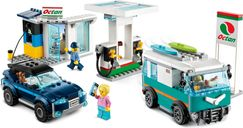 LEGO® City Service Station gameplay