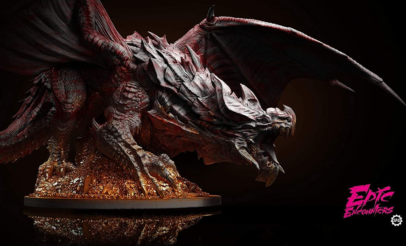 Epic Encounters: Lair of the Red Dragon miniature
