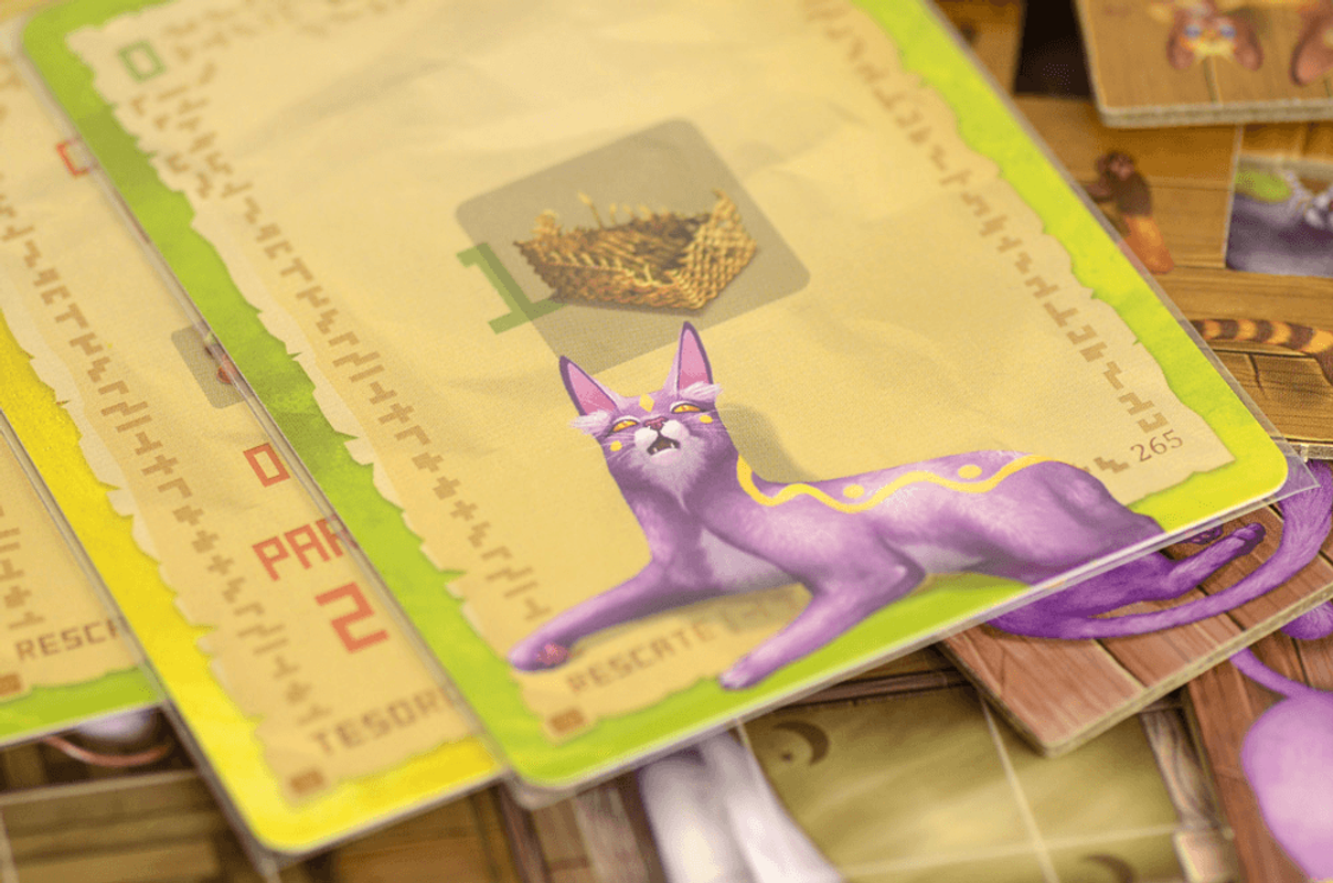 The Isle of Cats: Late Arrivals cards