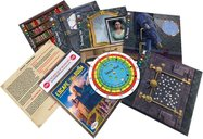 Escape the Room: Mystery at the Stargazer's Manor components