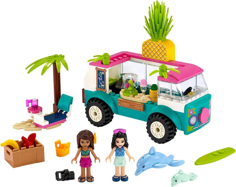 Juice Truck components