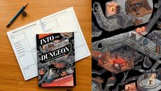 Into the Dungeon: A choose-your-own-path book components