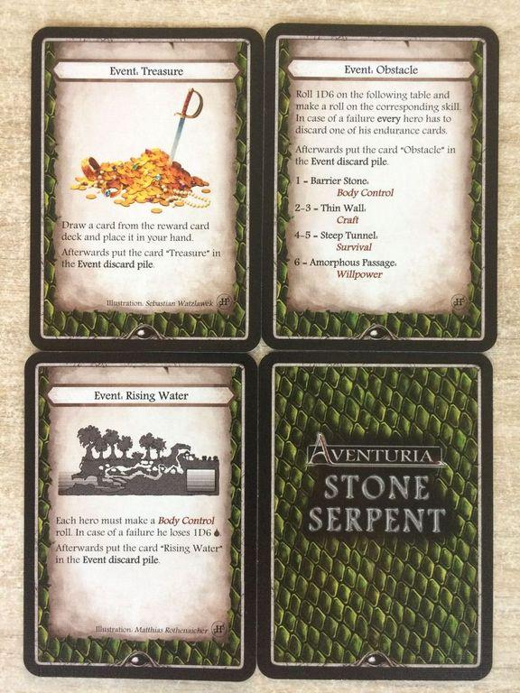 Aventuria: Heroes' Struggle cartes