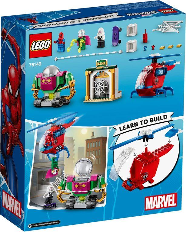 LEGO® Marvel The Menace   of Mysterio back of the box